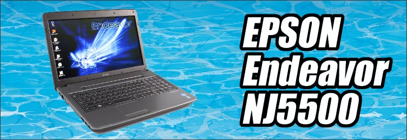 中古パソコン☆EPSON Endeavor NJ5500
